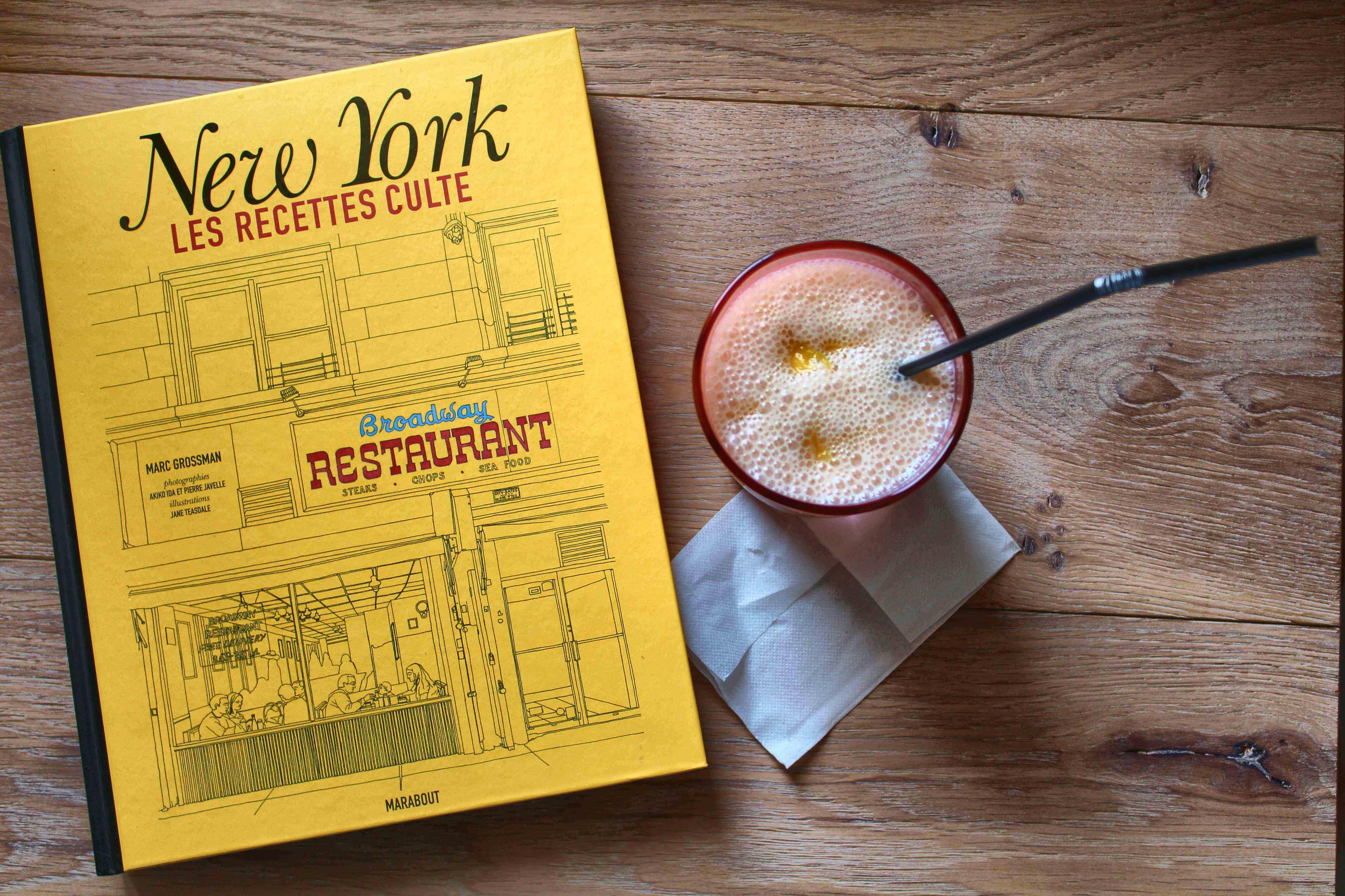 New york les recettes culte lassi la mangue - Livre cuisine marque culte ...