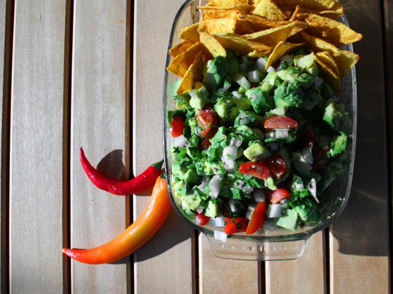 salade de guacamole