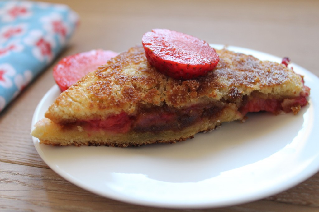 croque fraises speculoos battle food