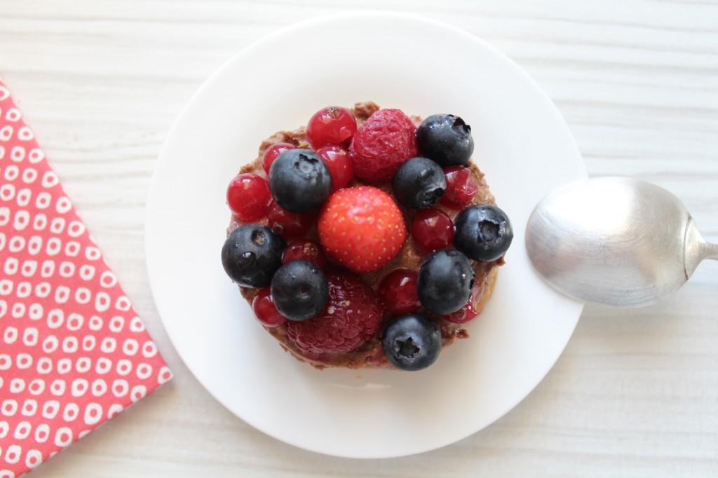 feuillete praline fruits rouges