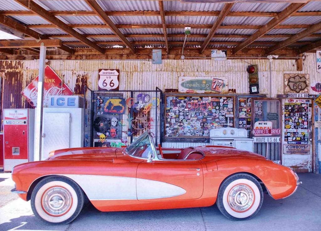 road 66 corvette