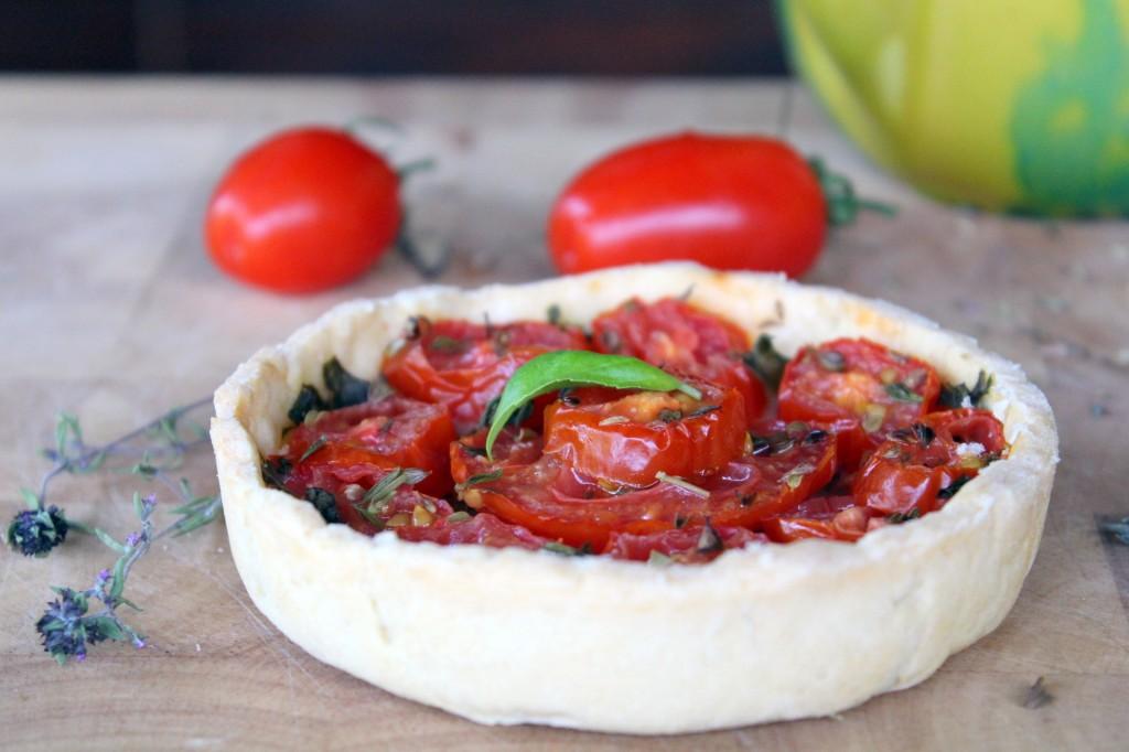 tarte tomates sacla