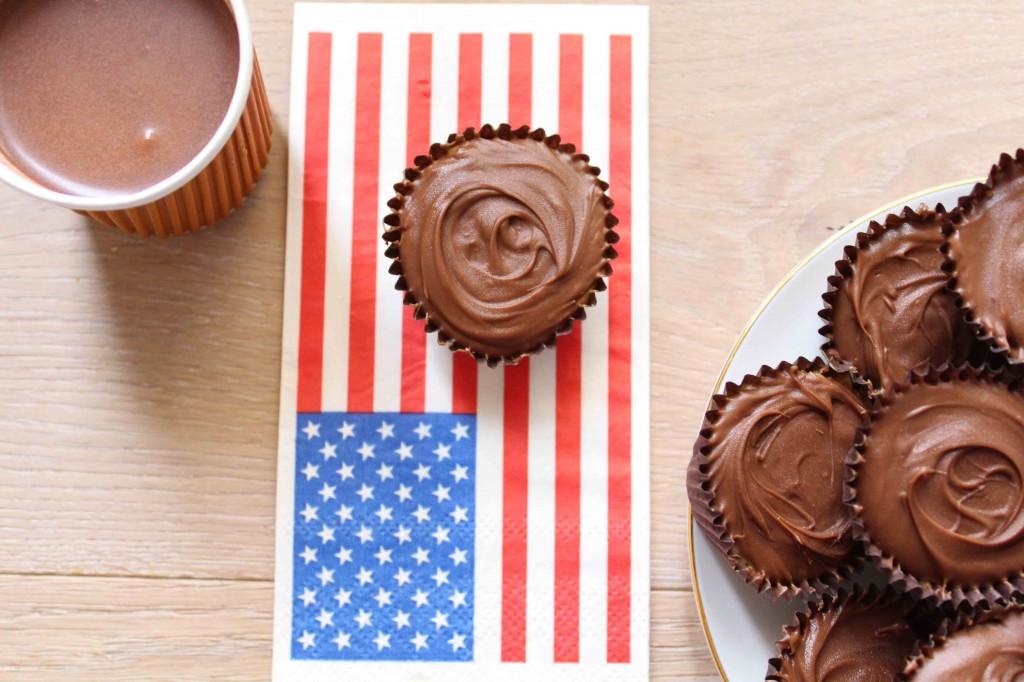 recette chocolats fourres cacahuete