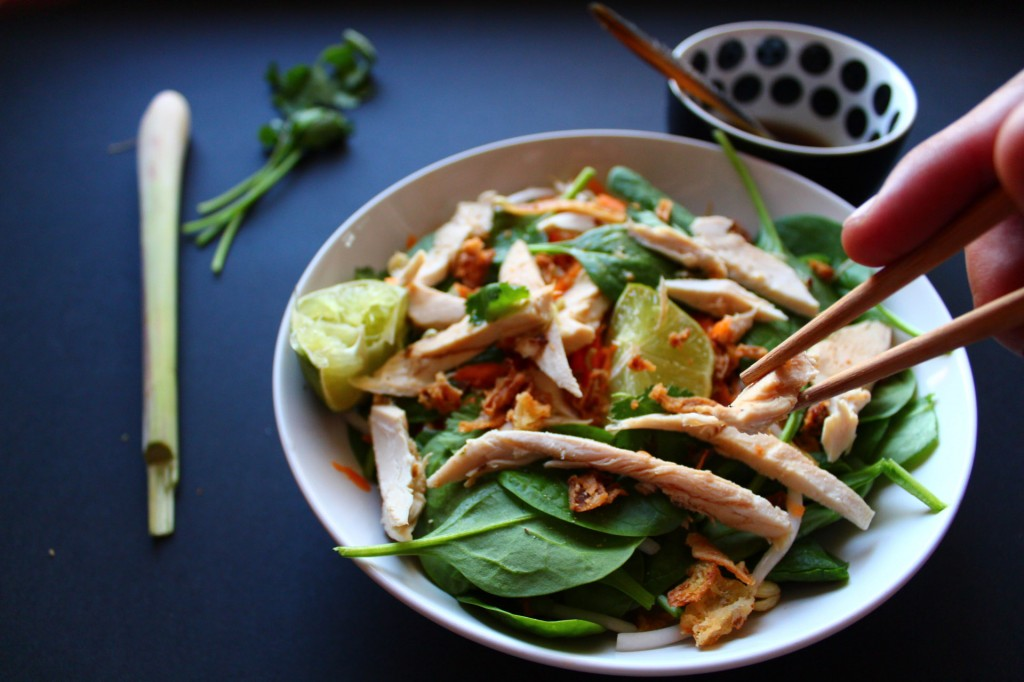 salade asiatique recette