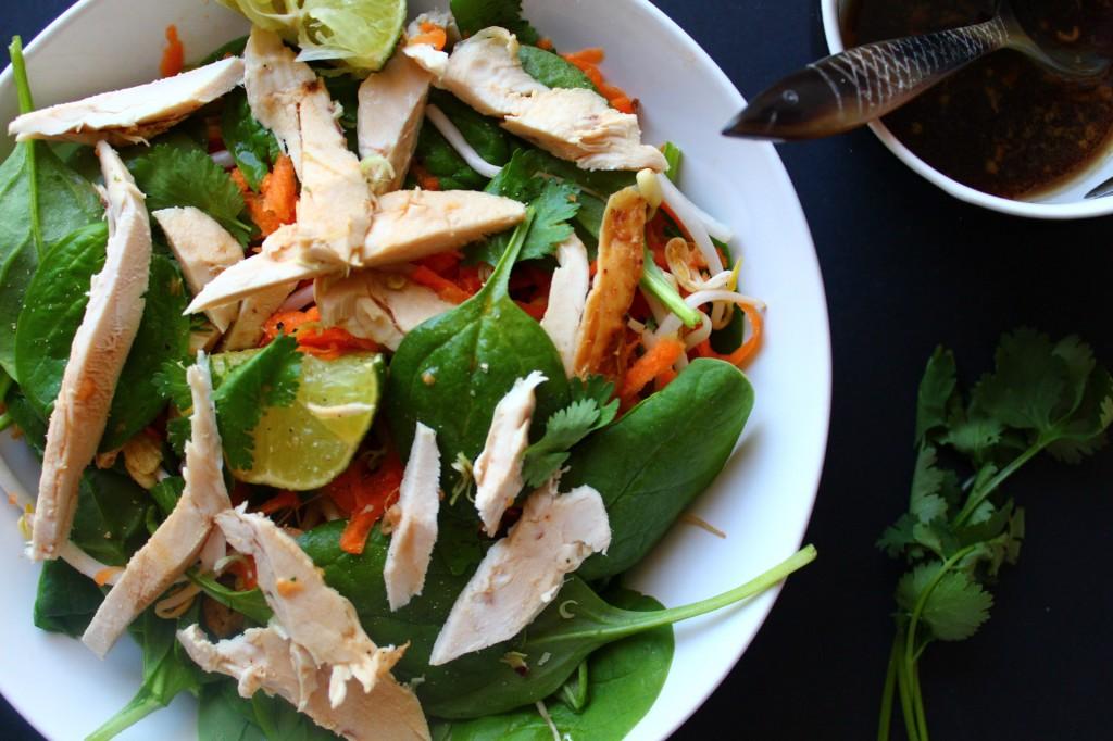 salade thai recette