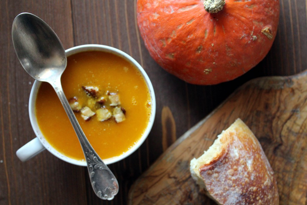 soupe potimarron courge potiron foie gras