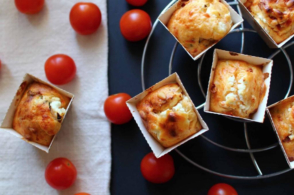 muffins tomates chevre
