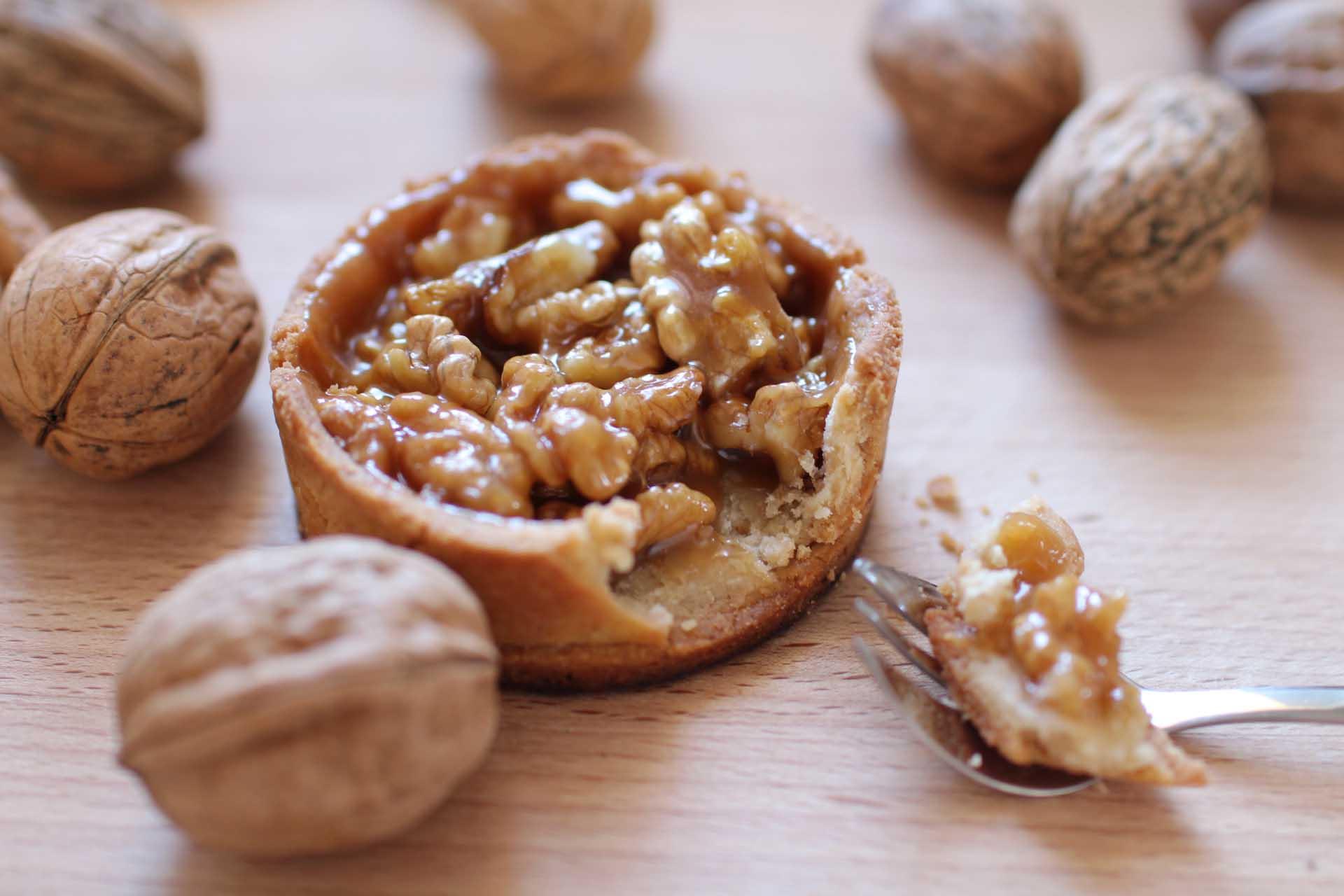 tartelettes grenobloises noix caramel