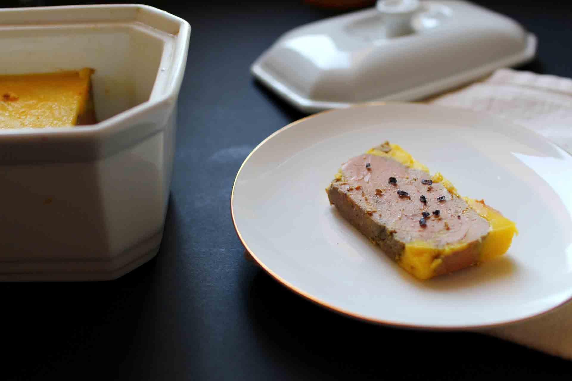 terrine de foie gras maison royal chill blog cuisine. Black Bedroom Furniture Sets. Home Design Ideas