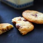 Cookies aux pépites de beurre de cacahuète-chocolat [inspiration Laura Todd]