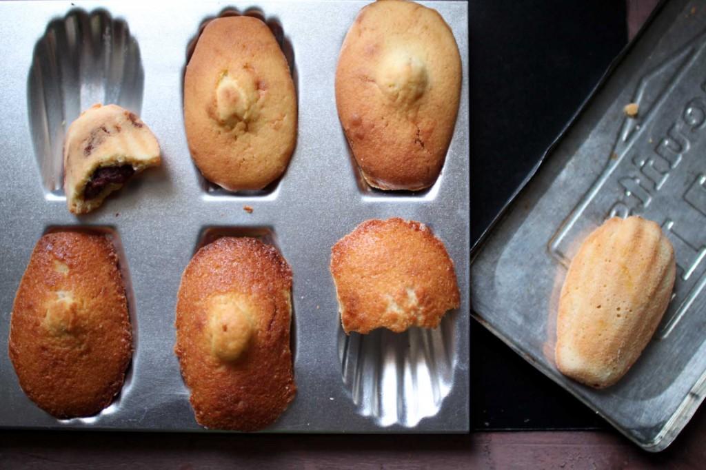 madeleines commercy fourrees chocolat citron