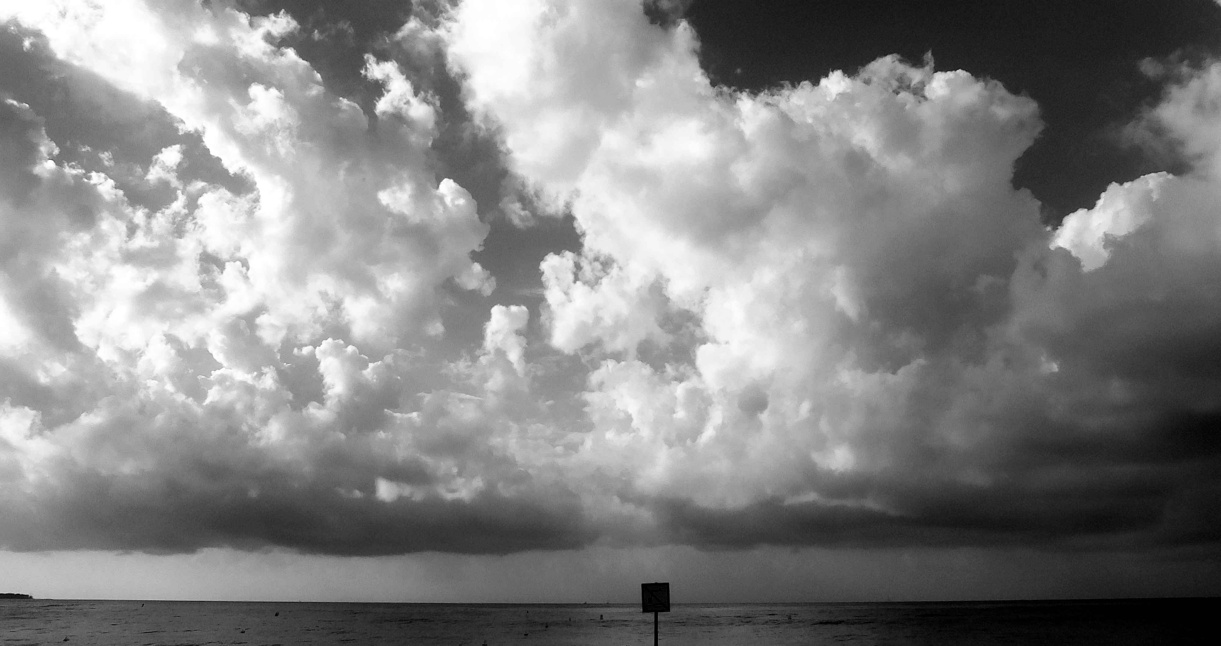 mer nuages
