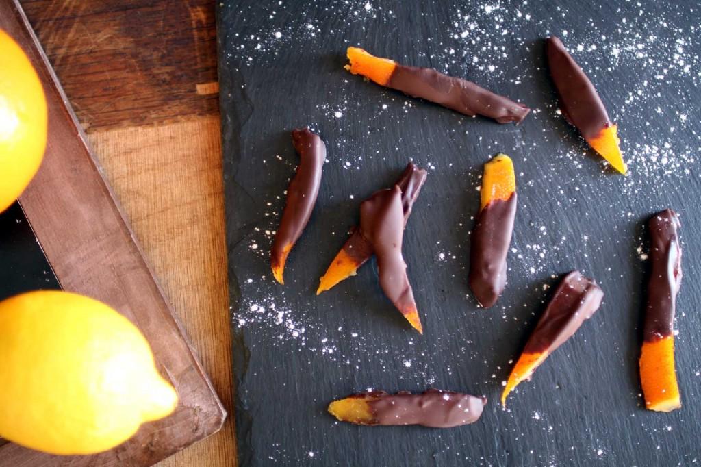 orangettes chocolat