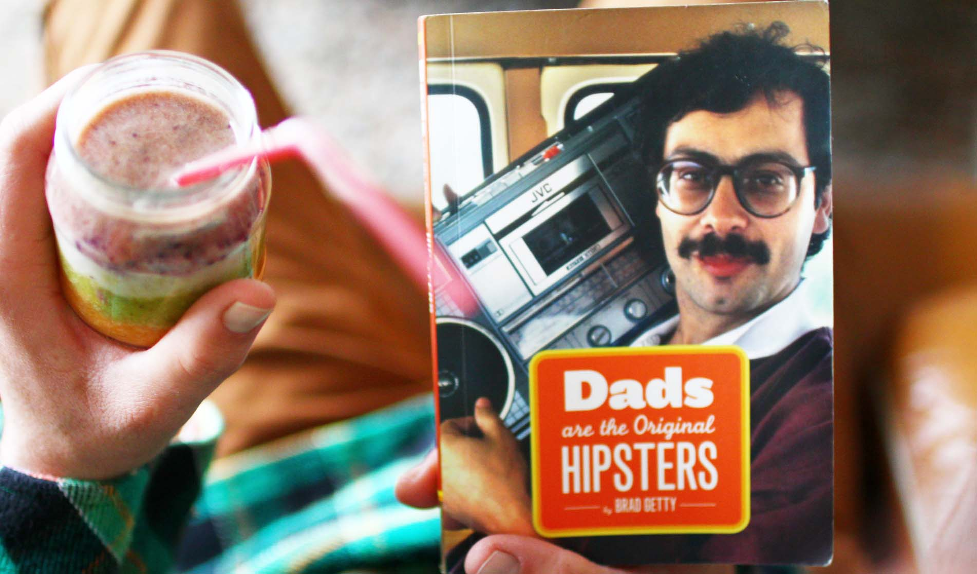 dads original hipsters rainbow smoothie