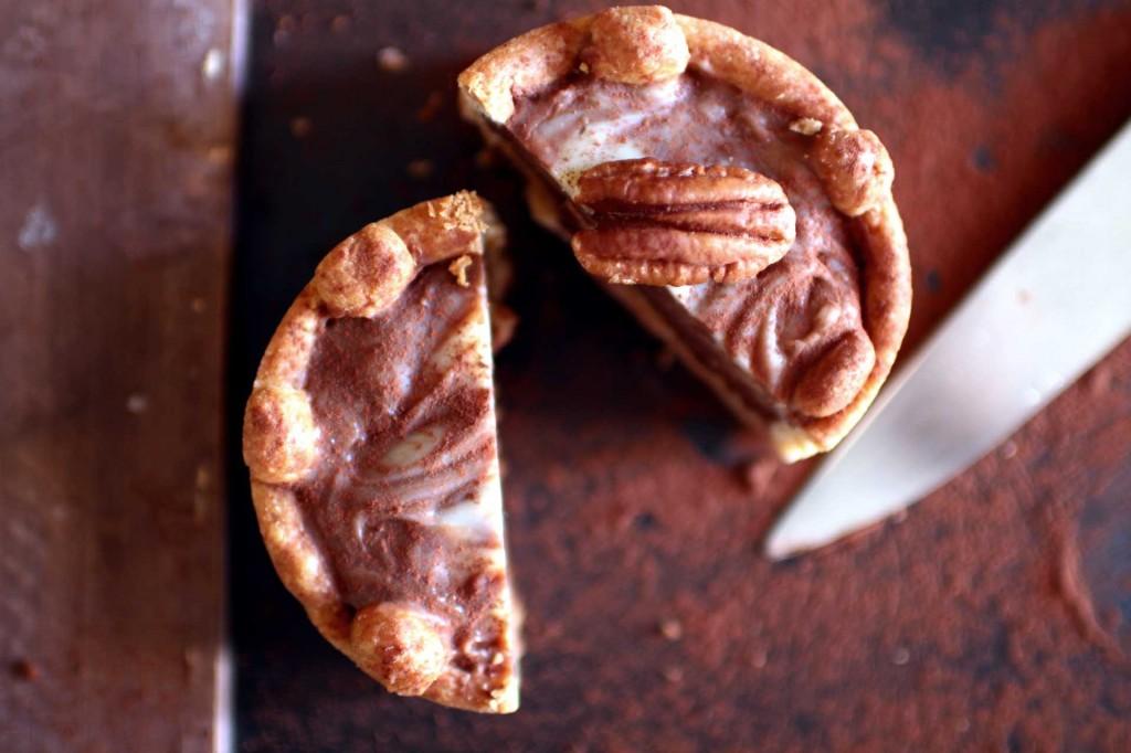 tarte noix pecan chocolat