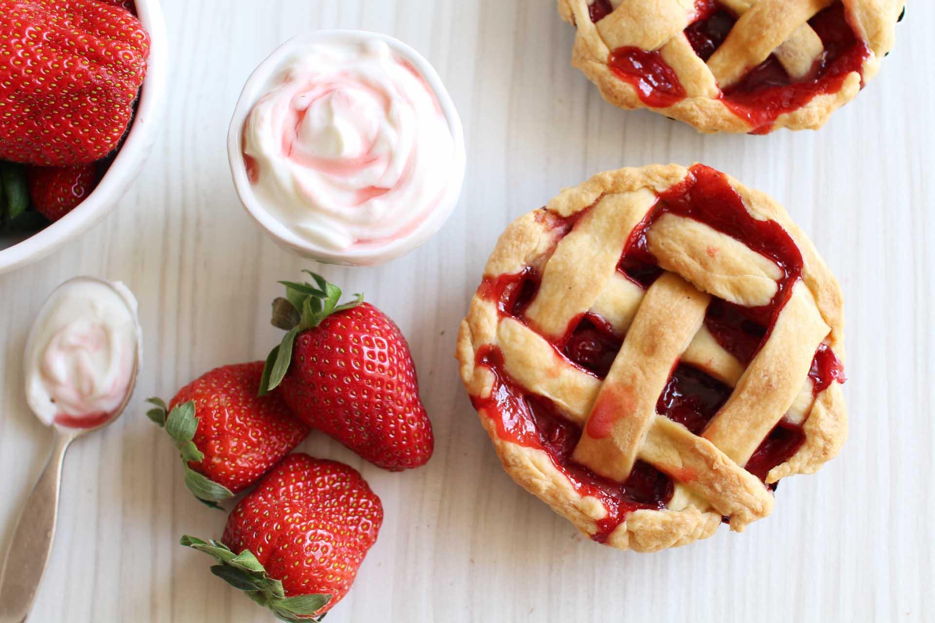 Mini pies aux fraises royal chill blog cuisine voyage - Cuisine uretre et dessert ...