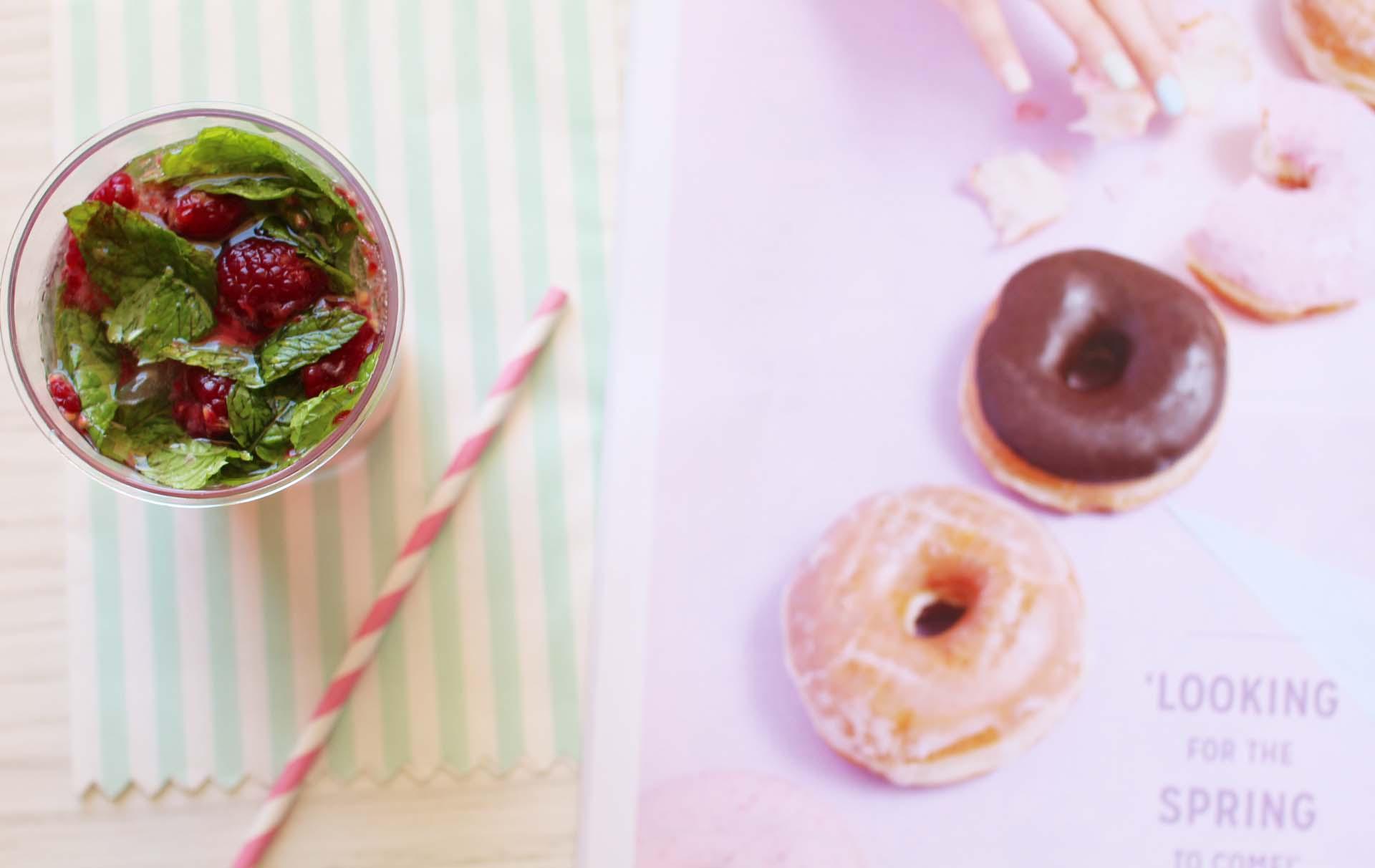 fricote magazine recette mojito framboises