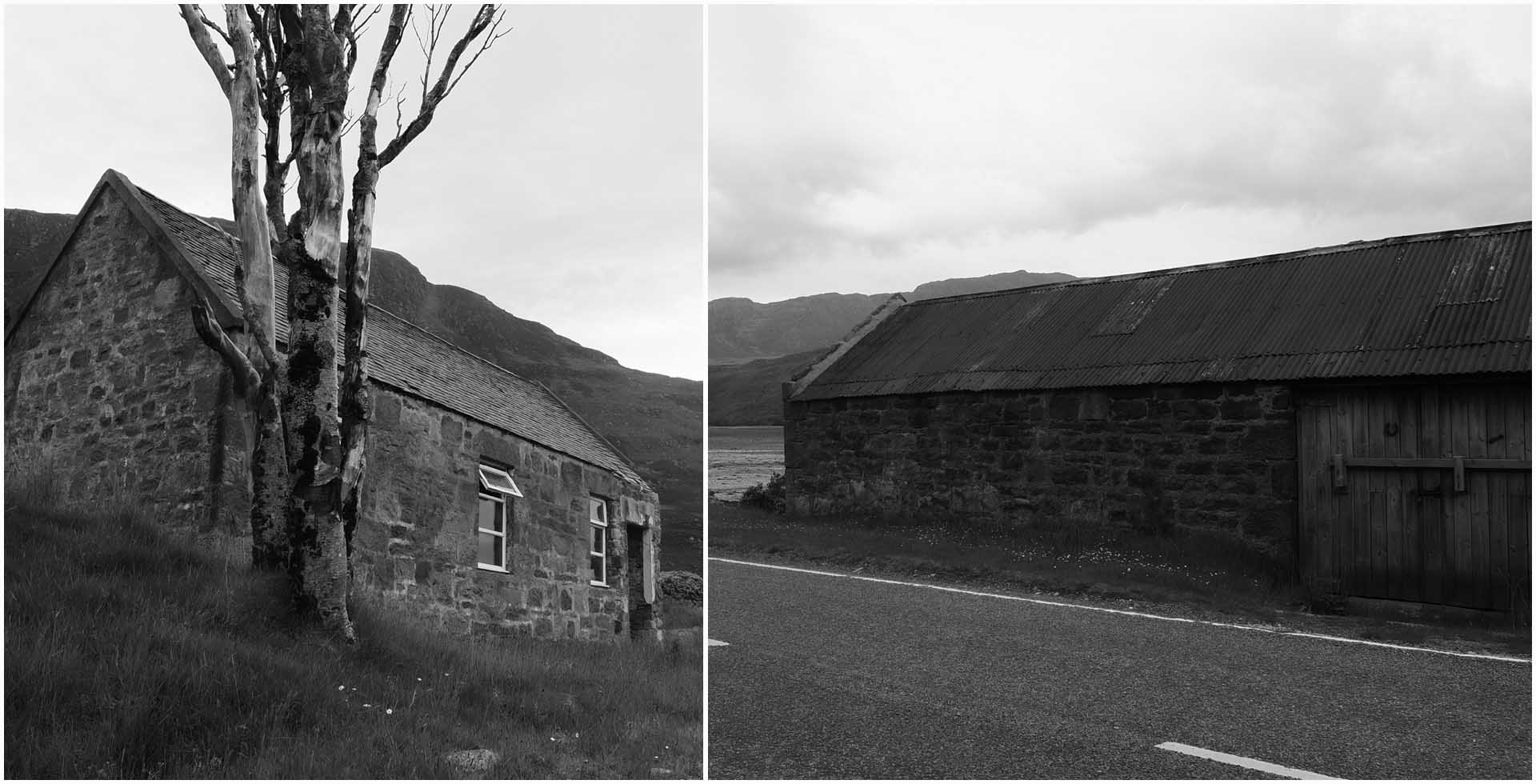 route wesetr ross ecosse scotland