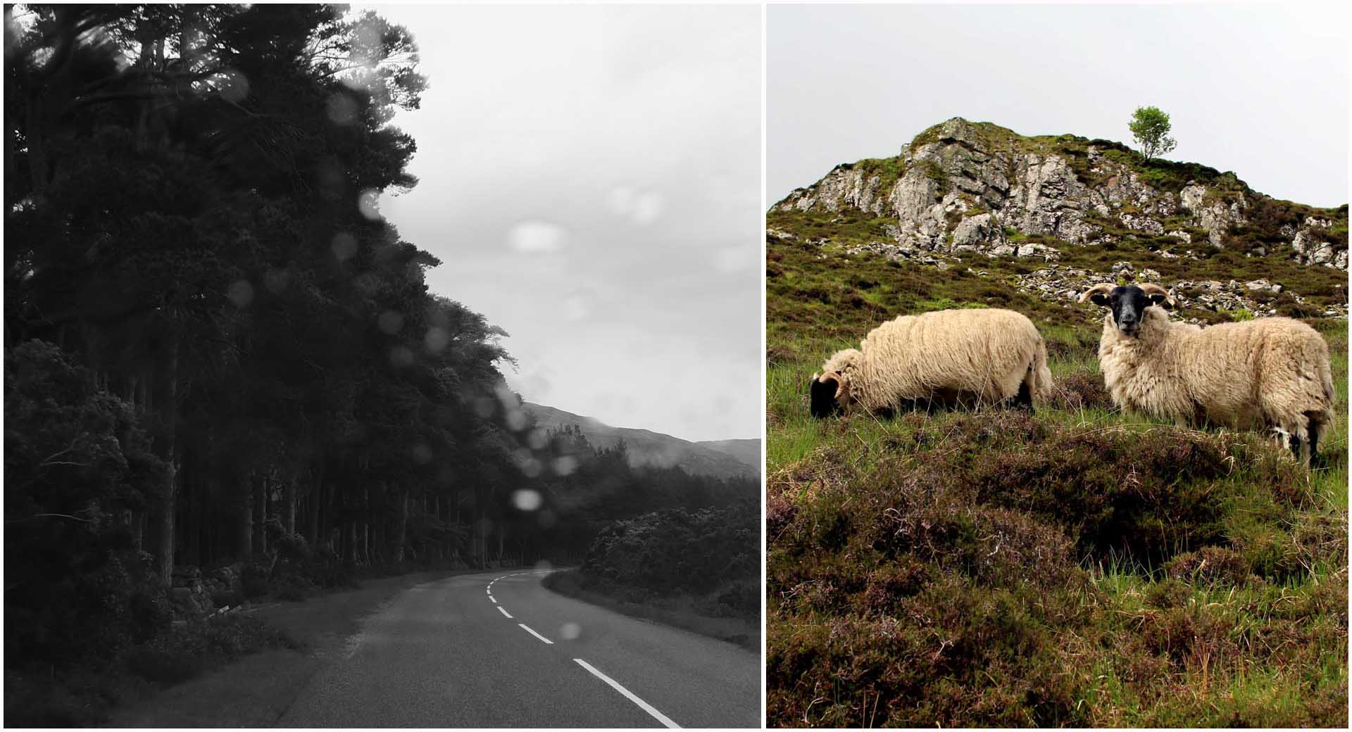 route wesetr ross ecosse
