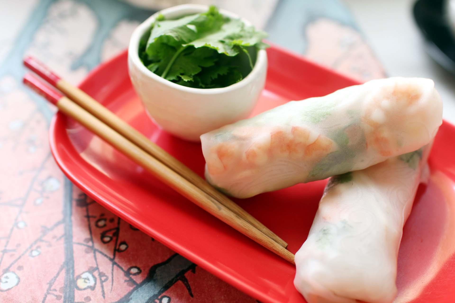 kit rouleaux de printemps recette  Kien Shan