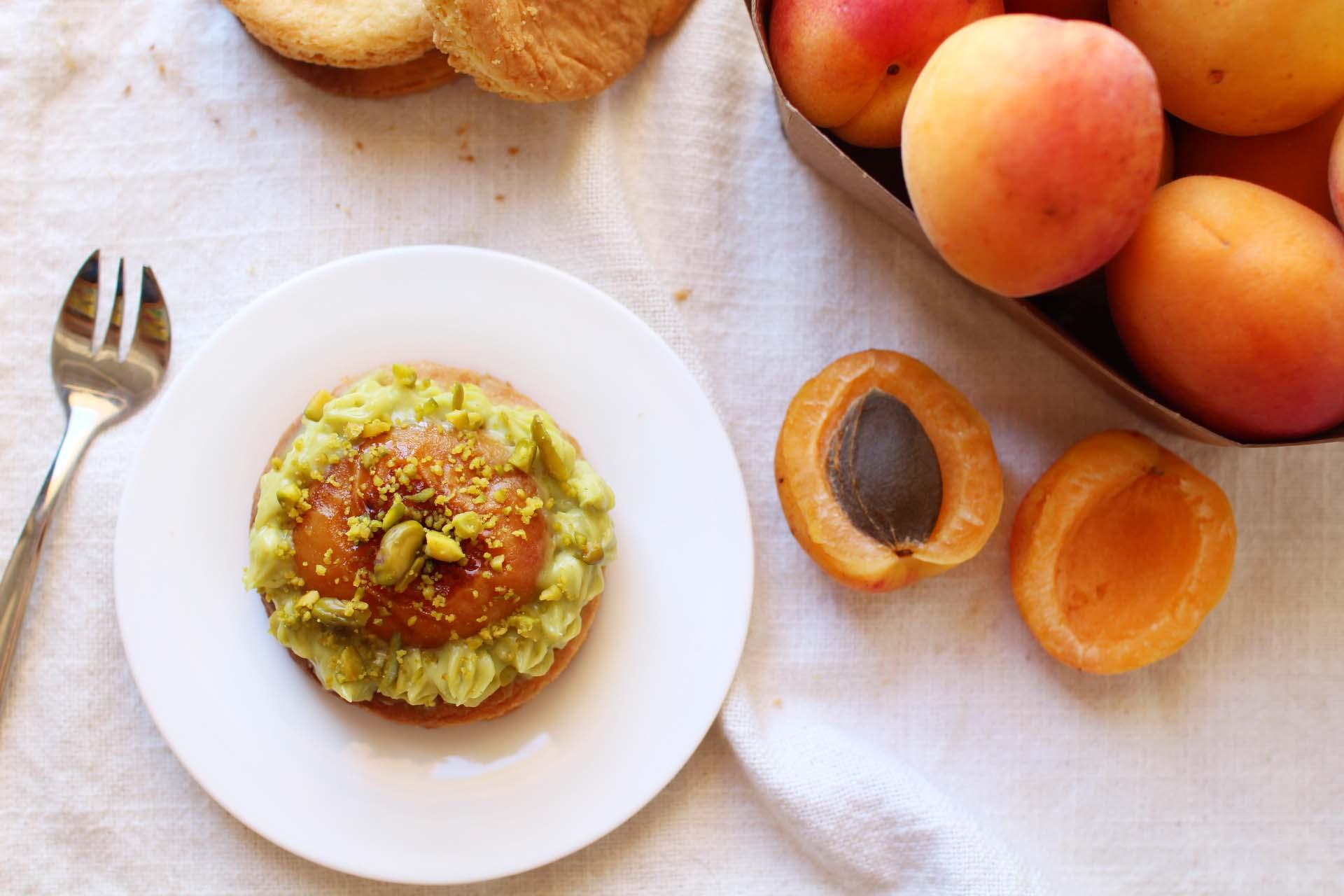 recette sables bretons pistache abricots