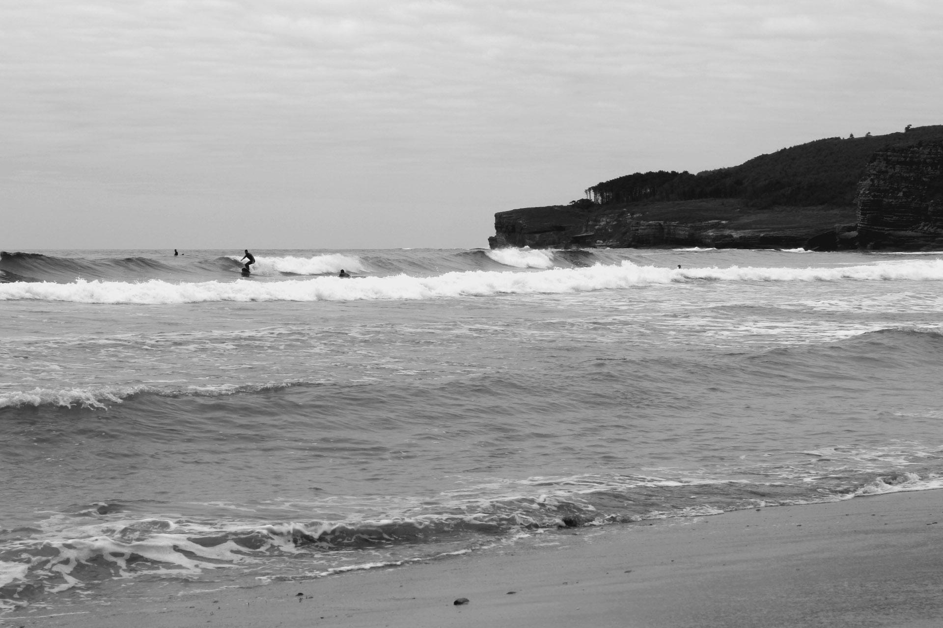 espagne langre  surfeur