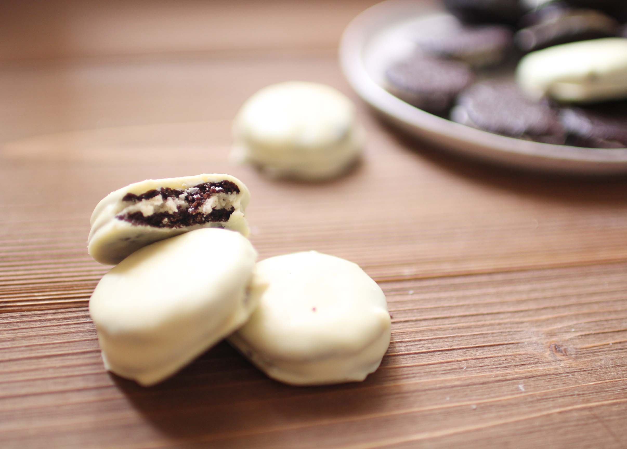 oreos maison chocolat blanc