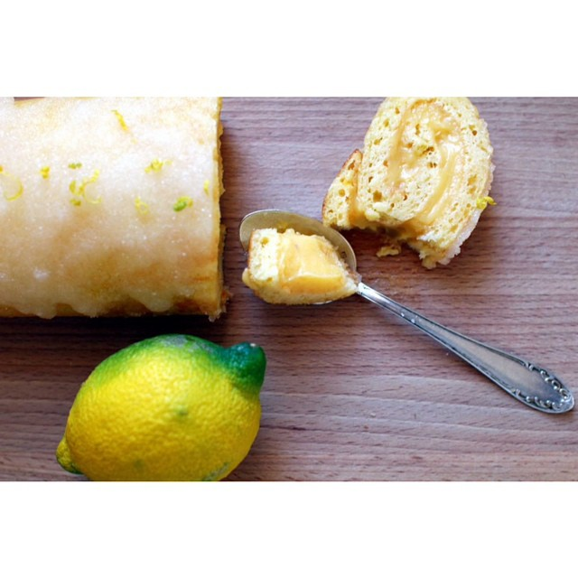 Roulade au #citron today ! ??http://www.royalchill.com/2015/02/20/roulade-au-citron/  #lemon #yum #food #foodblog #vscofood #instagood #instafood #foodporn #recette #explore