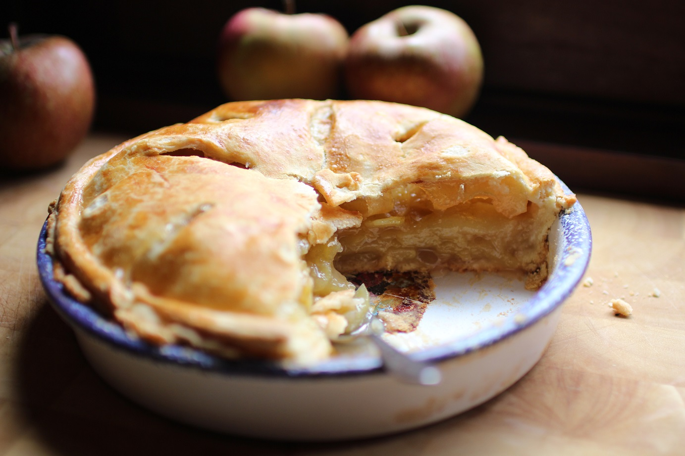 recette apple pie pommes