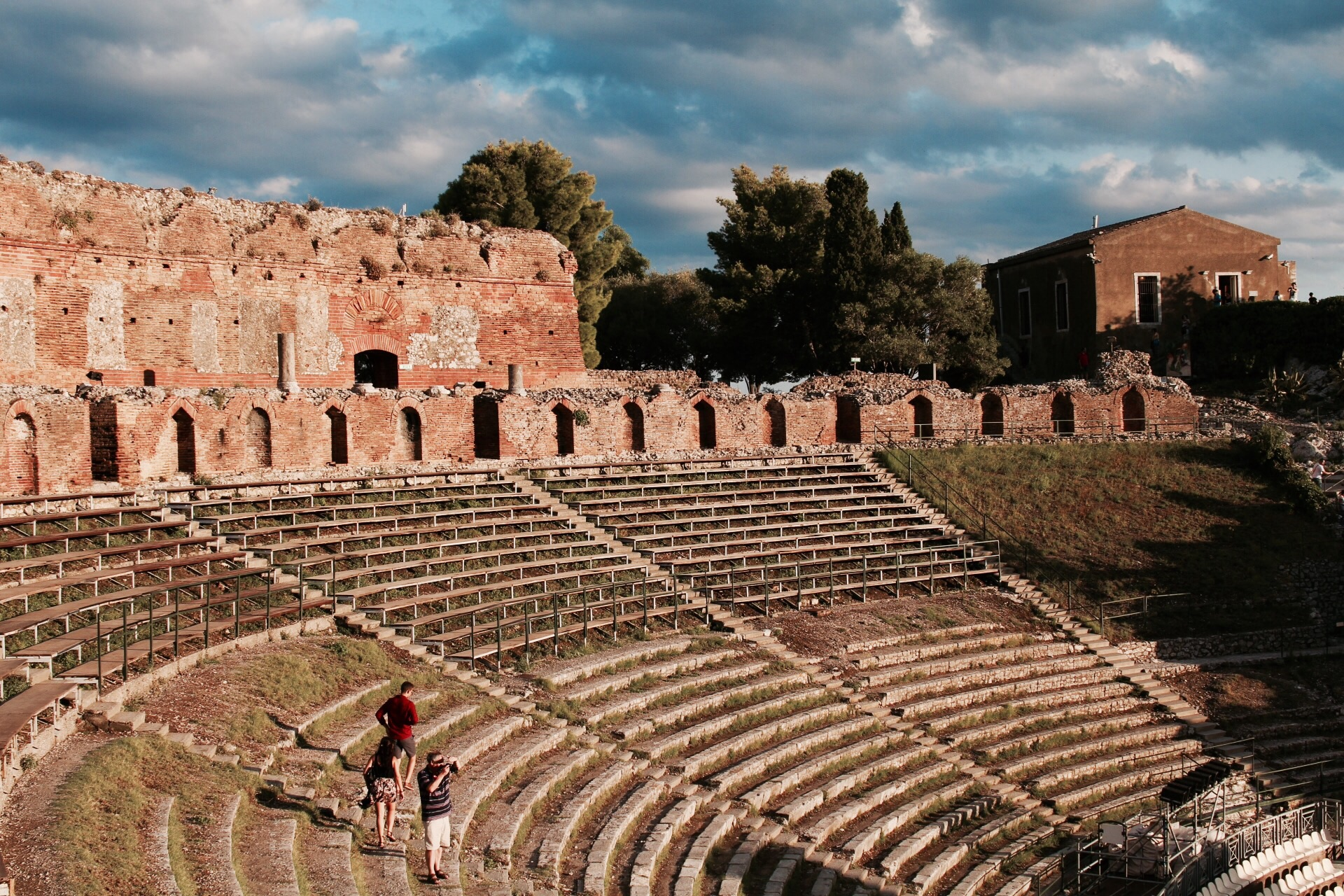 Théâtre de Taormina - sicile