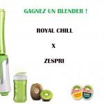 Concours Zespri X Royal Chill : gagnez un Blender !