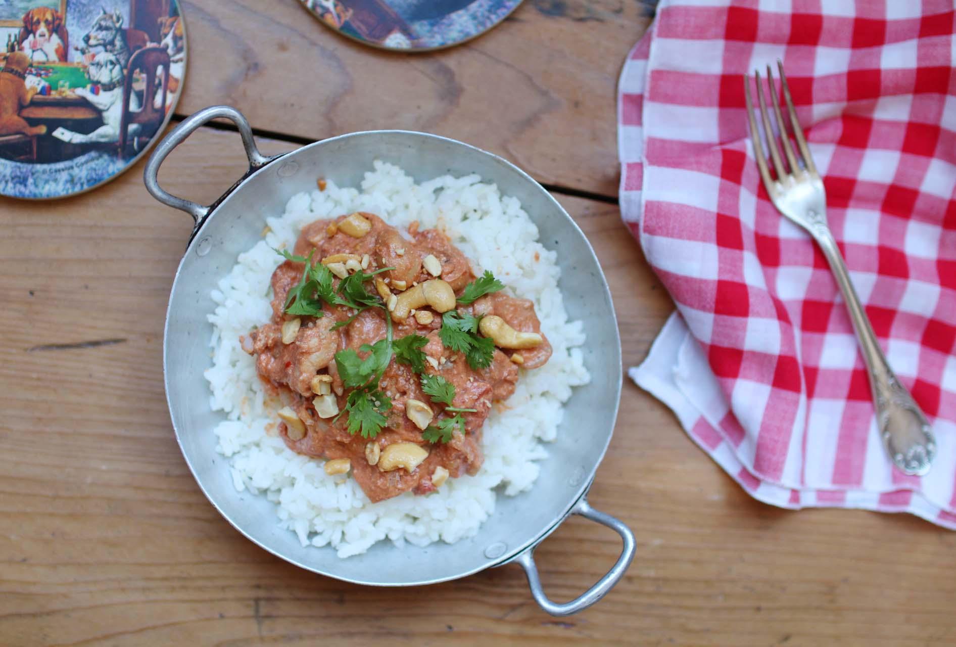 curry poulet cajou