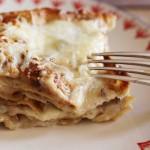 Lasagnes fromagères aux noix