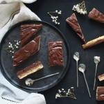 Les ondulés : carrés chocolatés à la crème de noisette