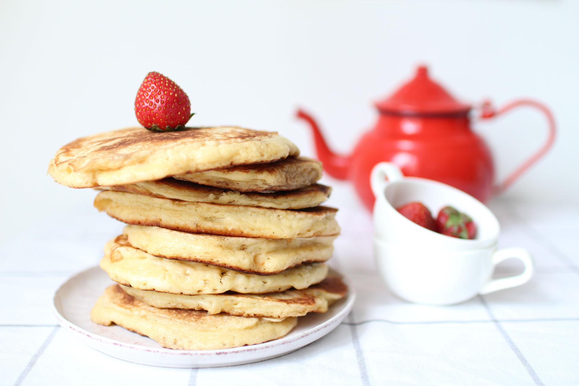 recette pancakes fluffy