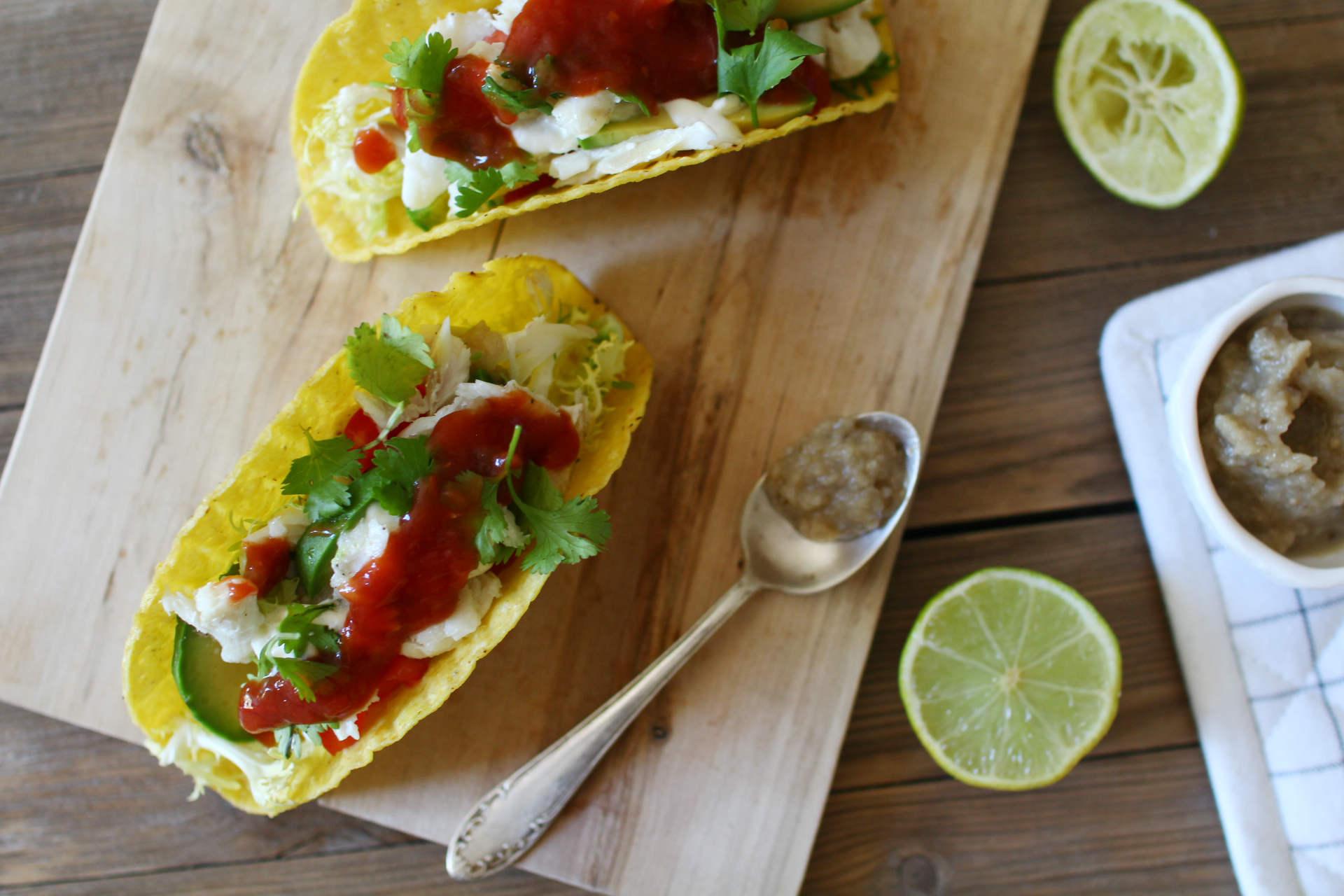 tacos poisson avocat