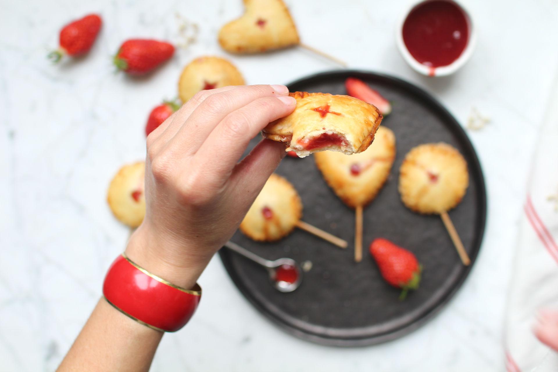 pop pies recette tarte fraise royal chill
