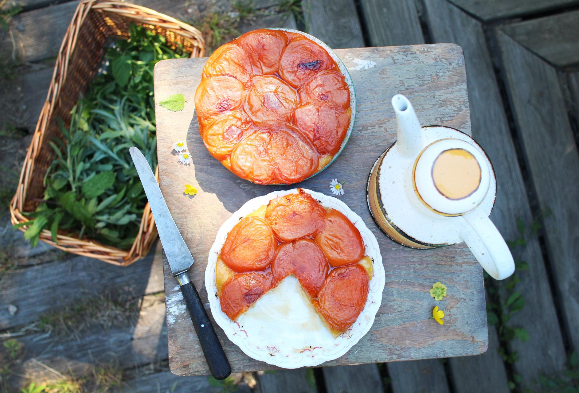 recette tarte tatin abricot melisse royal chill blog cuisine