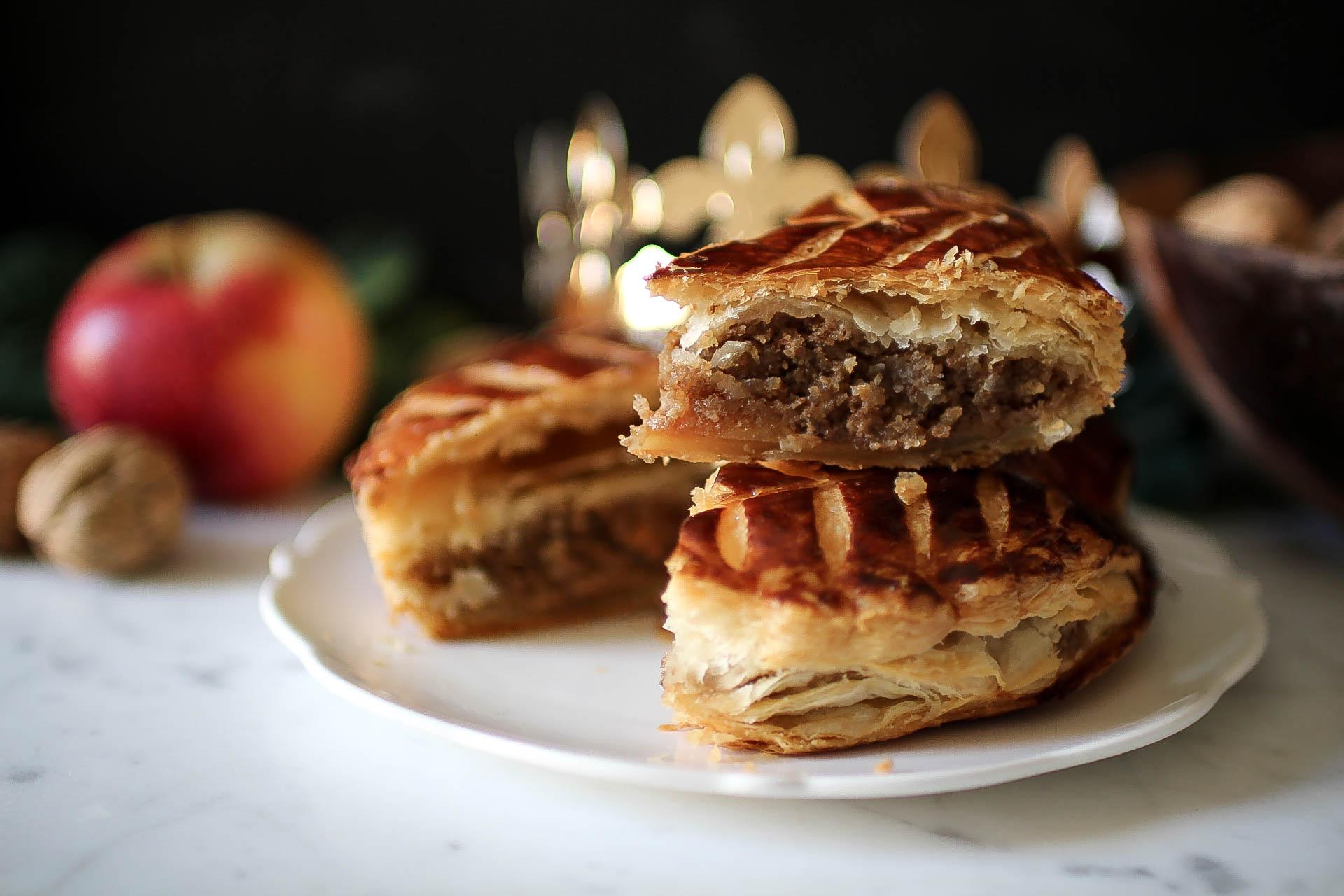 Galette des rois aux noix et aux pommes royal chill blog cuisine voyage et photographie - Galette des rois maison ...