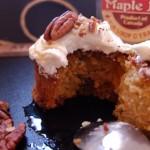carrot cake aux noix de pécan et sirop d'érable