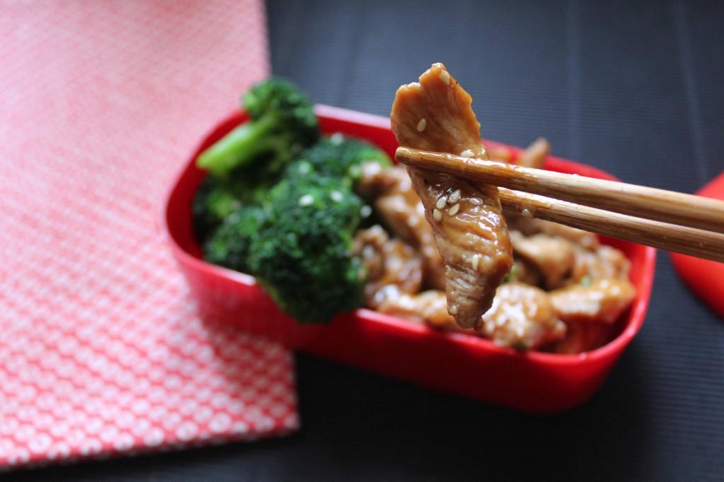 Poulet sauce asiatique