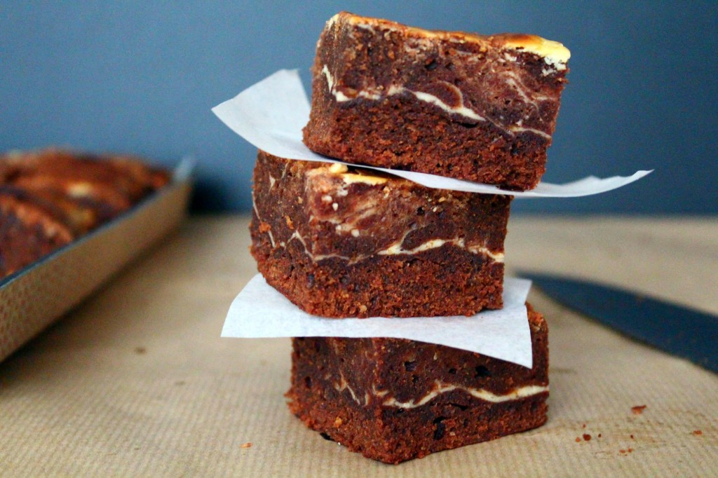 brownie au cream cheese