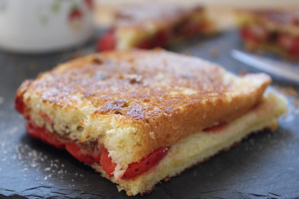 croque fraises speculoos