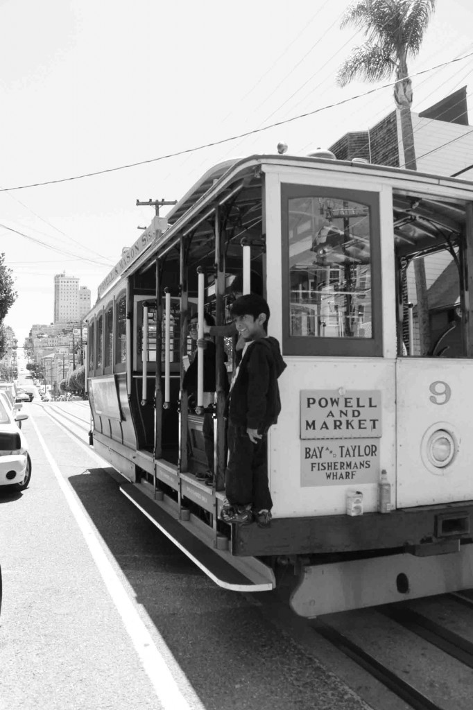 tramway enfant