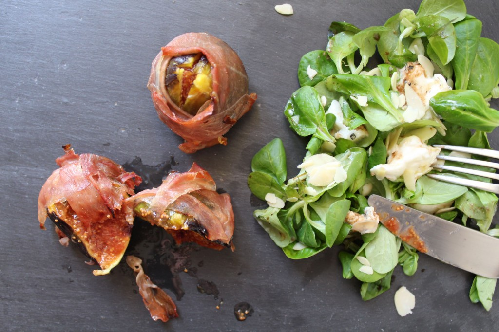 figues roties au jambon