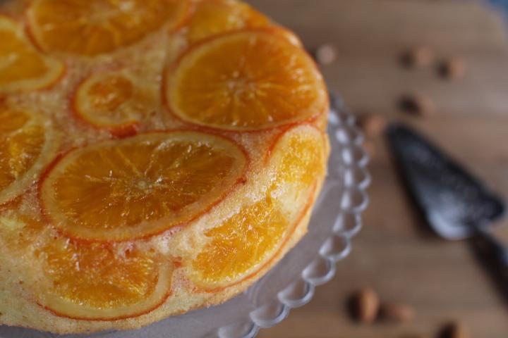 gateau oranges sirop