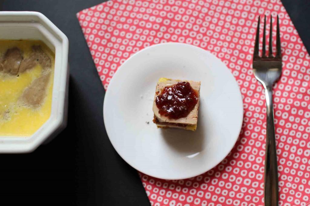bouchees foie gras chutney épices oignons