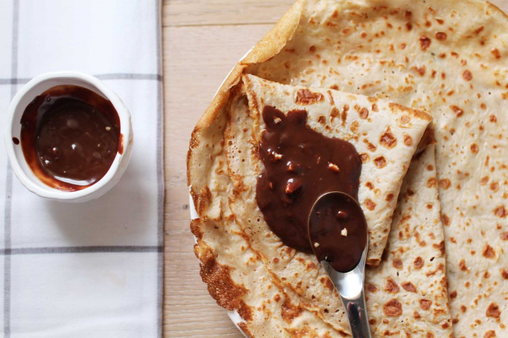 crepes lait ribot chocolat amandes