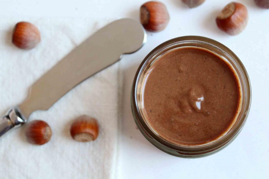 nutella maison tartiner chocolat noisettes