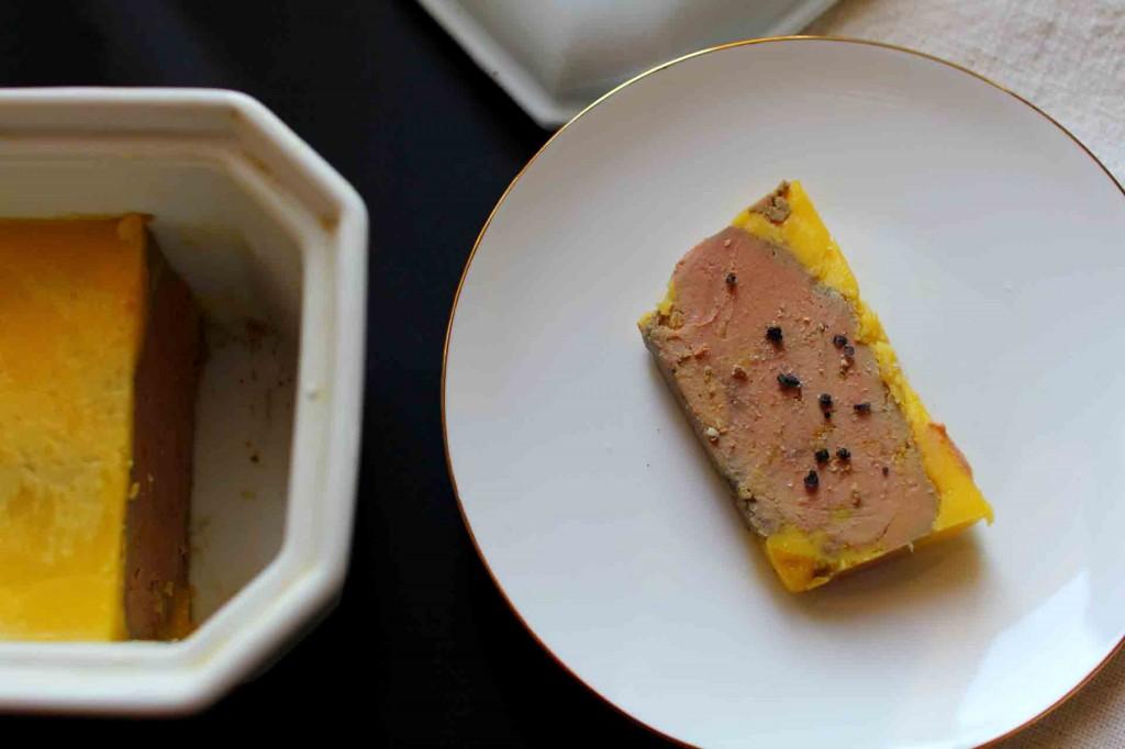 terrine de foie gras maison au porto
